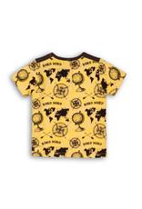 Koko Noko t shirt, Yellow + aop black, 37C 34809