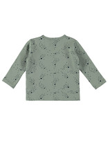 Bampidano New Born T-shirt l/s allover print, soft green AO