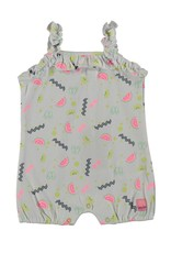 Bampidano Baby Girls playsuit allover print, allover