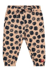 Bampidano Baby Girls trousers allover print, light pink AO