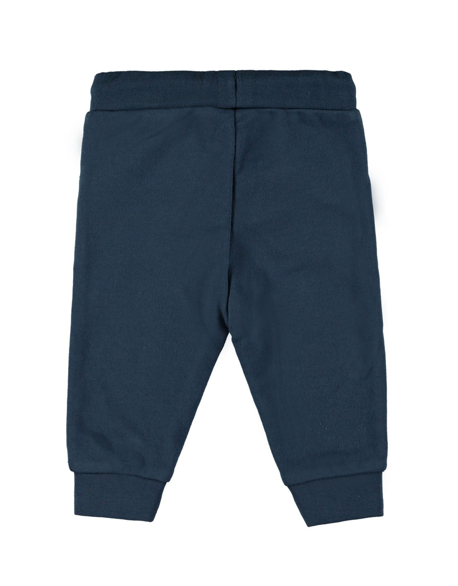 Bampidano Baby Boys sweat trousers plain, blue