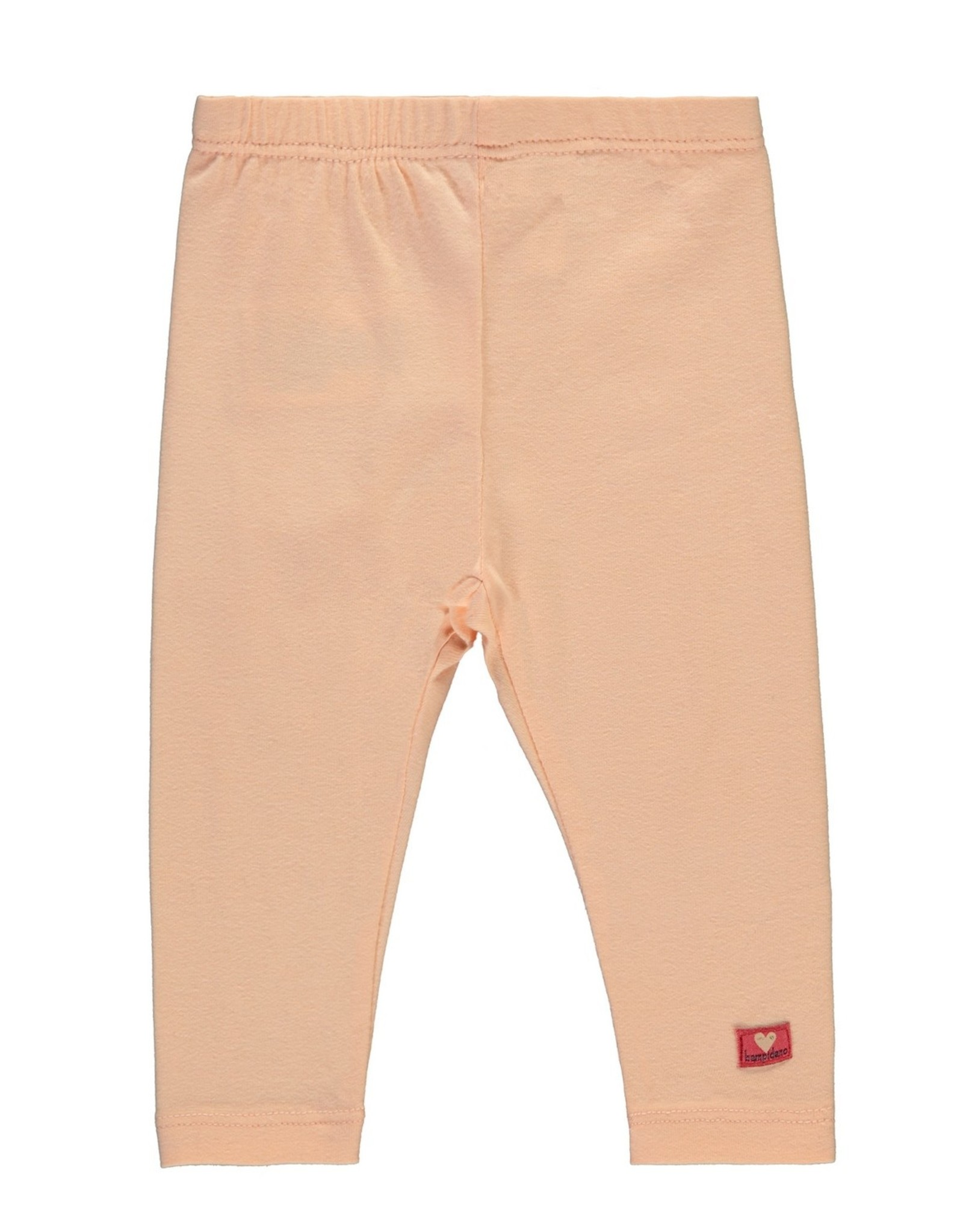 Bampidano Baby Girls legging plain, light pink