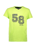 Bampidano Kids Boys T-shirt s/s V-neck 58, bright green