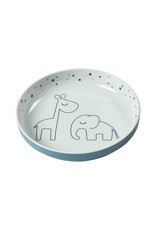 Done by Deer Yummy mini plate Dreamy dots Blue