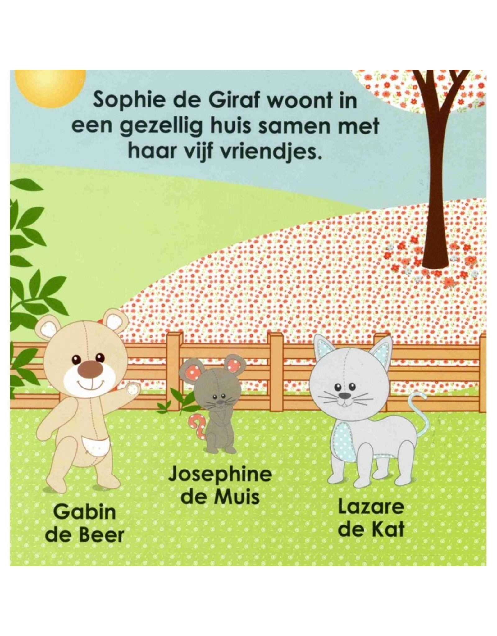 Sophie de Giraf Sophie en haar vriendjes
