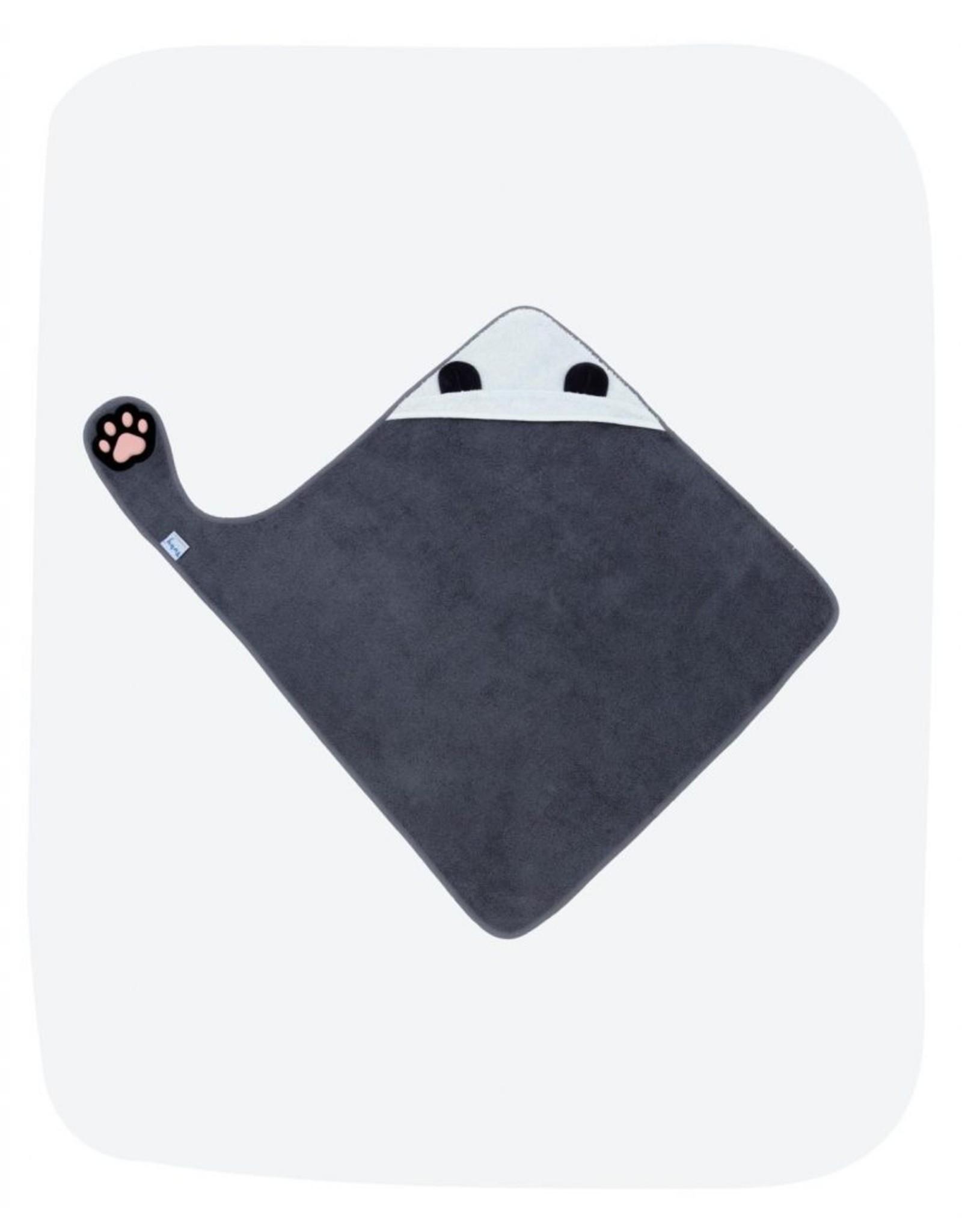 Invented4Kids Badcape met pootje Panda