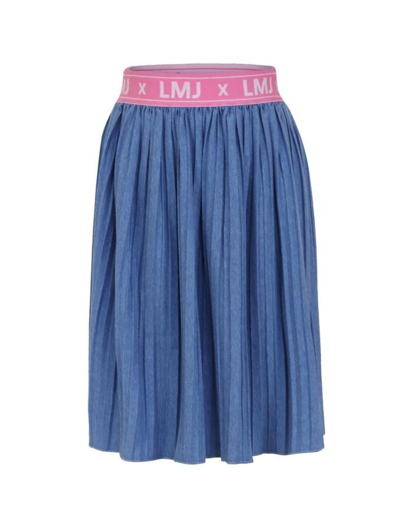 Little Miss Juliette Plissé Skirt, BLU