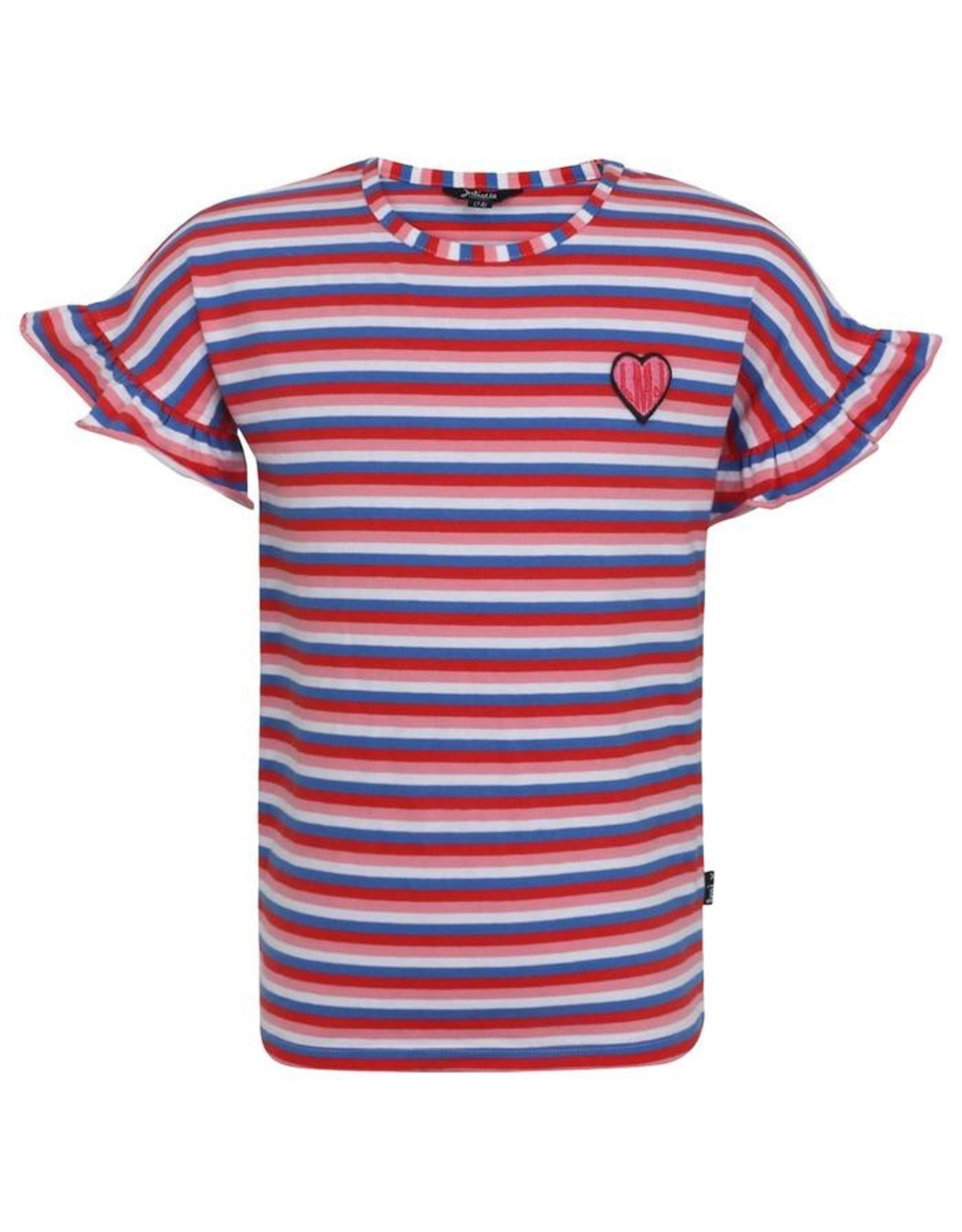 Little Miss Juliette T-shirt Stripes, MUL