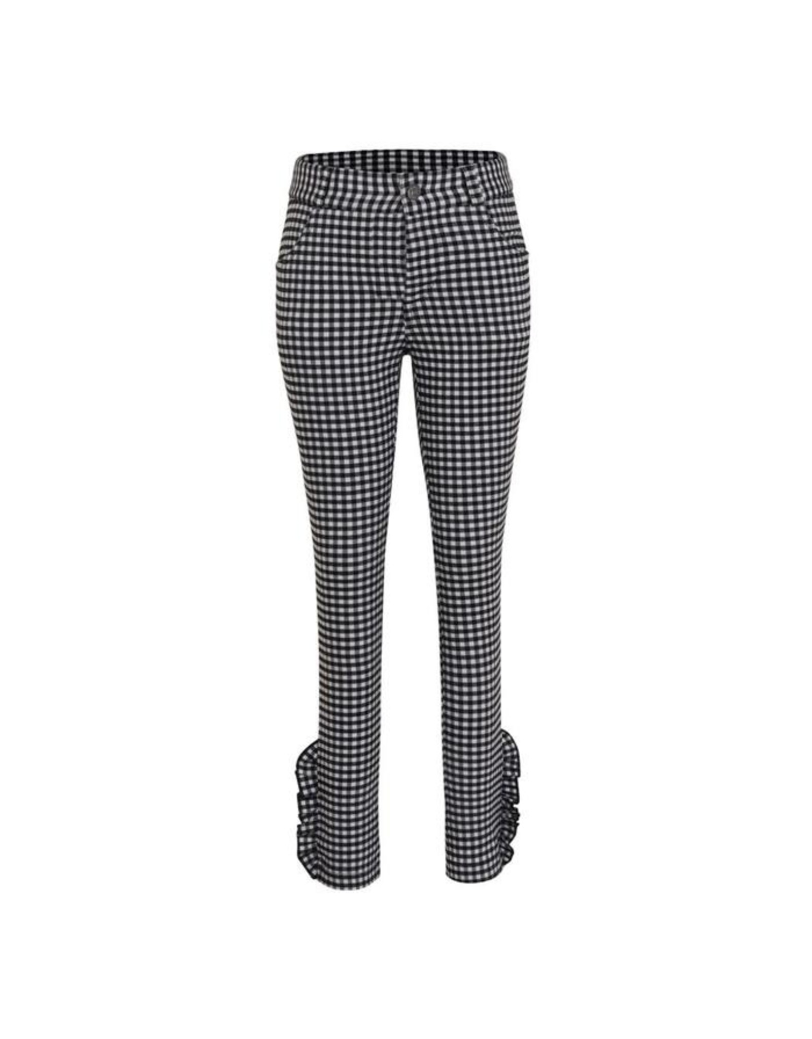 Little Miss Juliette Pants Checkered , GRY