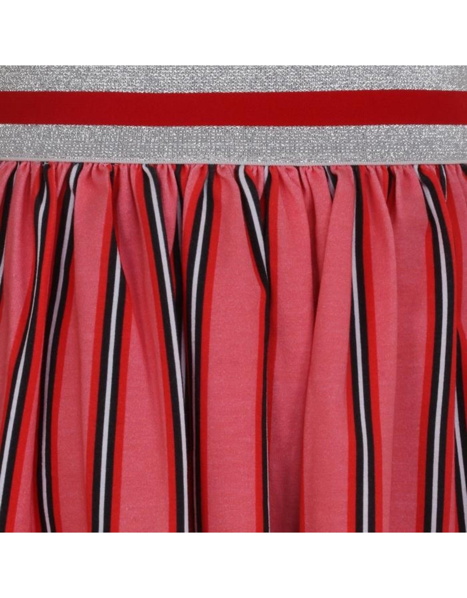 Little Miss Juliette A-Line Skirt Stripes, PNK