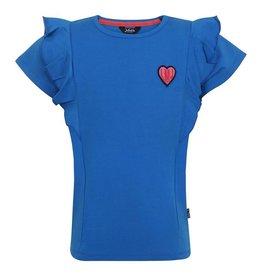 Little Miss Juliette Shirt Ruffle, BLU