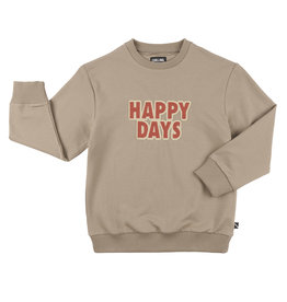 CarlijnQ Happy days - sweater + embroidery patch