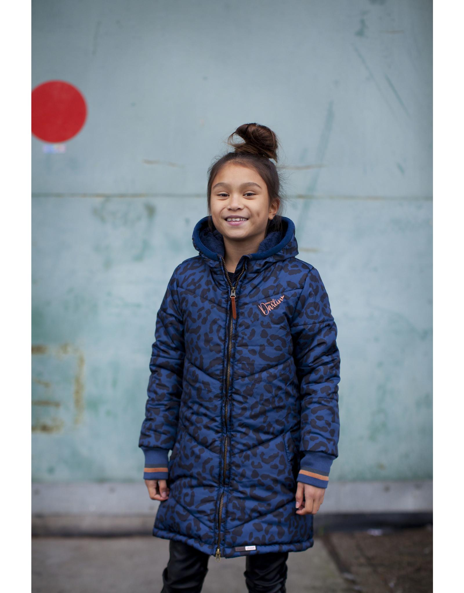 Moodstreet Jacket long, Navy