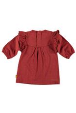 B.E.S.S. Dress AOP Ruffle, Coral