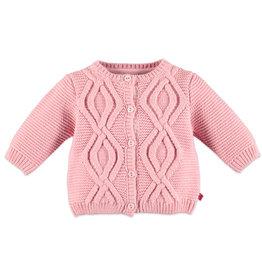Babyface baby girls cardigan/pink haze