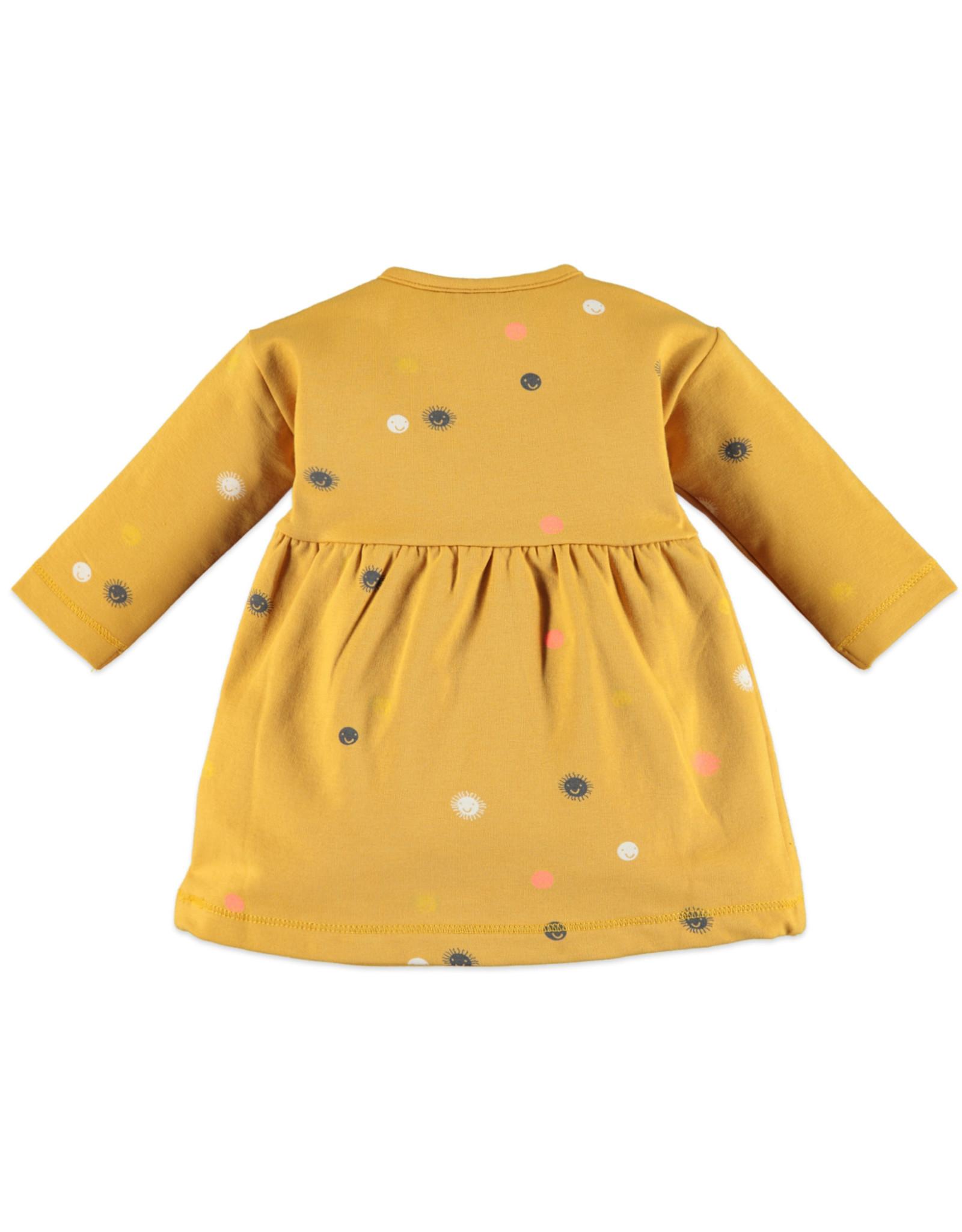 Babyface baby girls dress/ocher