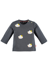 Babyface baby girls t-shirt long sleeve/grey dove