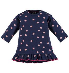Babyface baby girls dress/deep blue