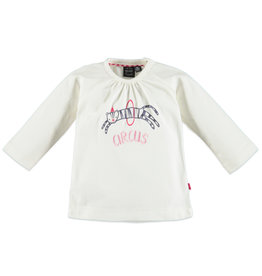 Babyface baby girls t-shirt long sleeve/off white