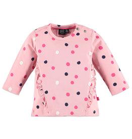Babyface baby girls t-shirt long sleeve/pink haze