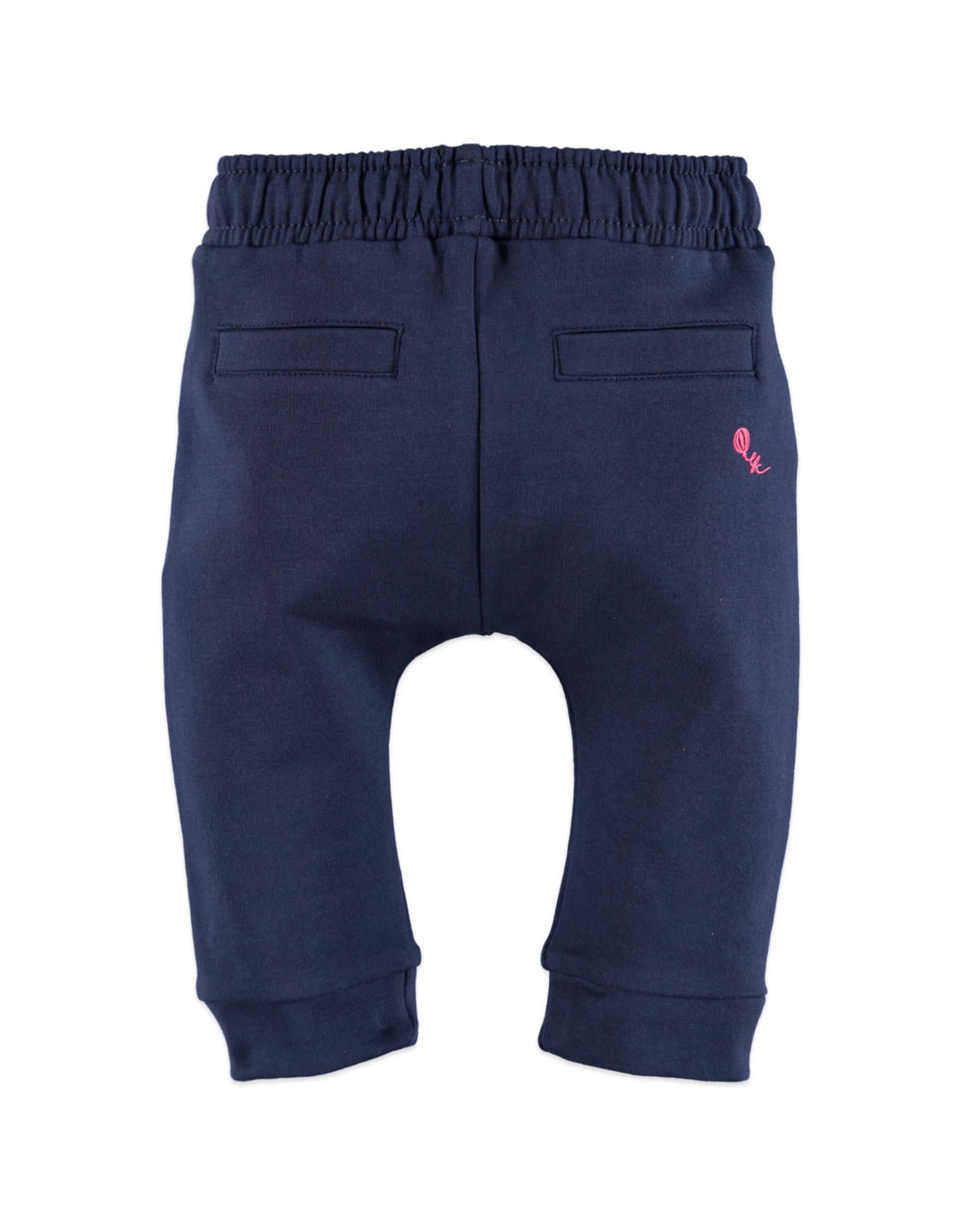 Babyface baby girl sweatpants/deep blue
