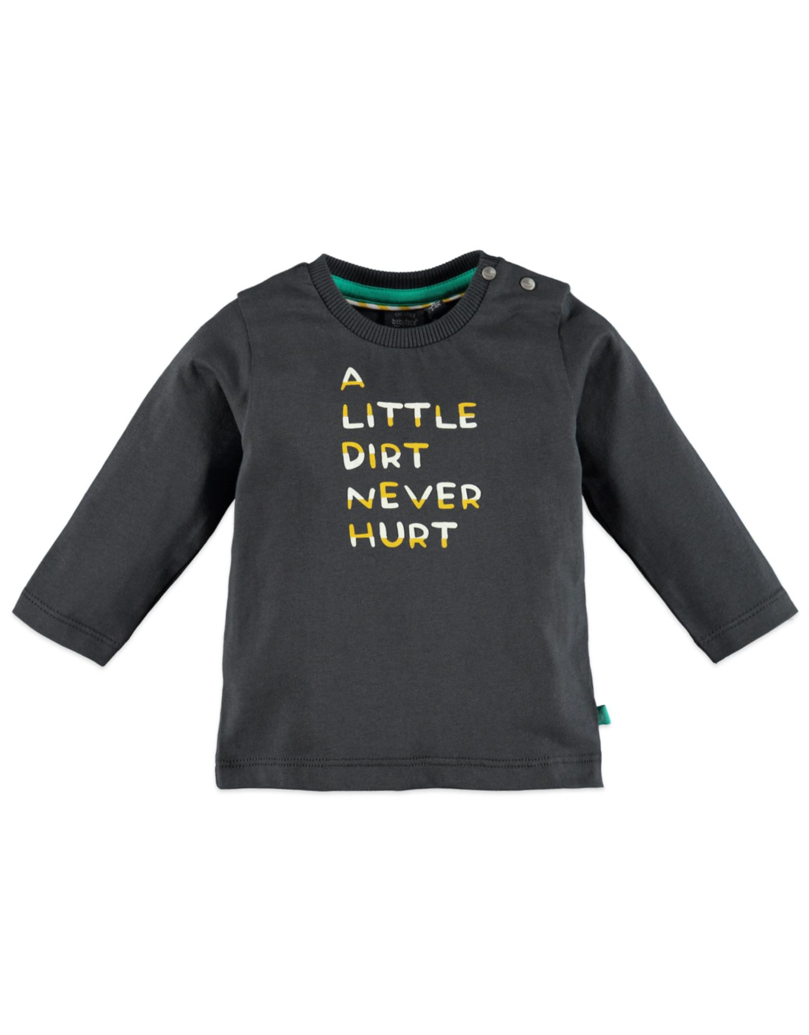 Babyface baby boys t-shirt long sleeve/dark grey