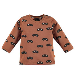 Babyface baby boys t-shirt longsleeve/caramel