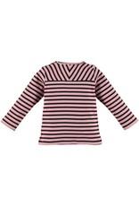 Babyface girls t-shirt long sleeve/chalk pink