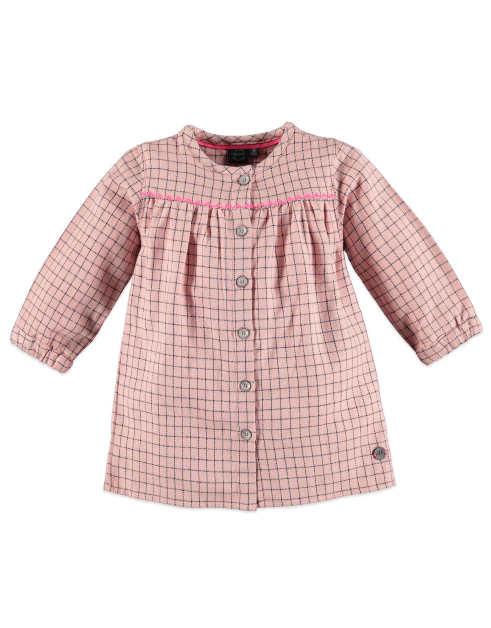 Babyface girls dress/chalk pink
