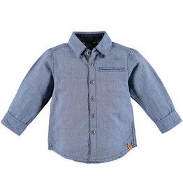 Babyface boys shirt long sleeve/indigo