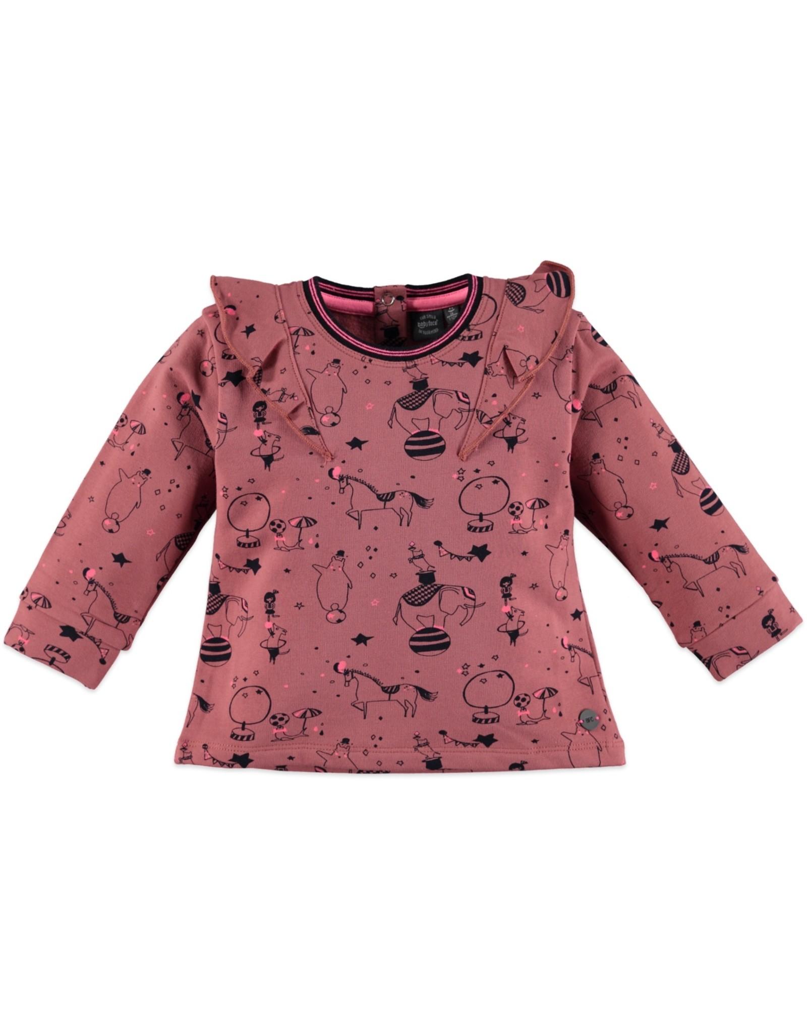 Babyface girls sweatshirt/dusty rose