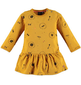 Babyface girls dress/ocher