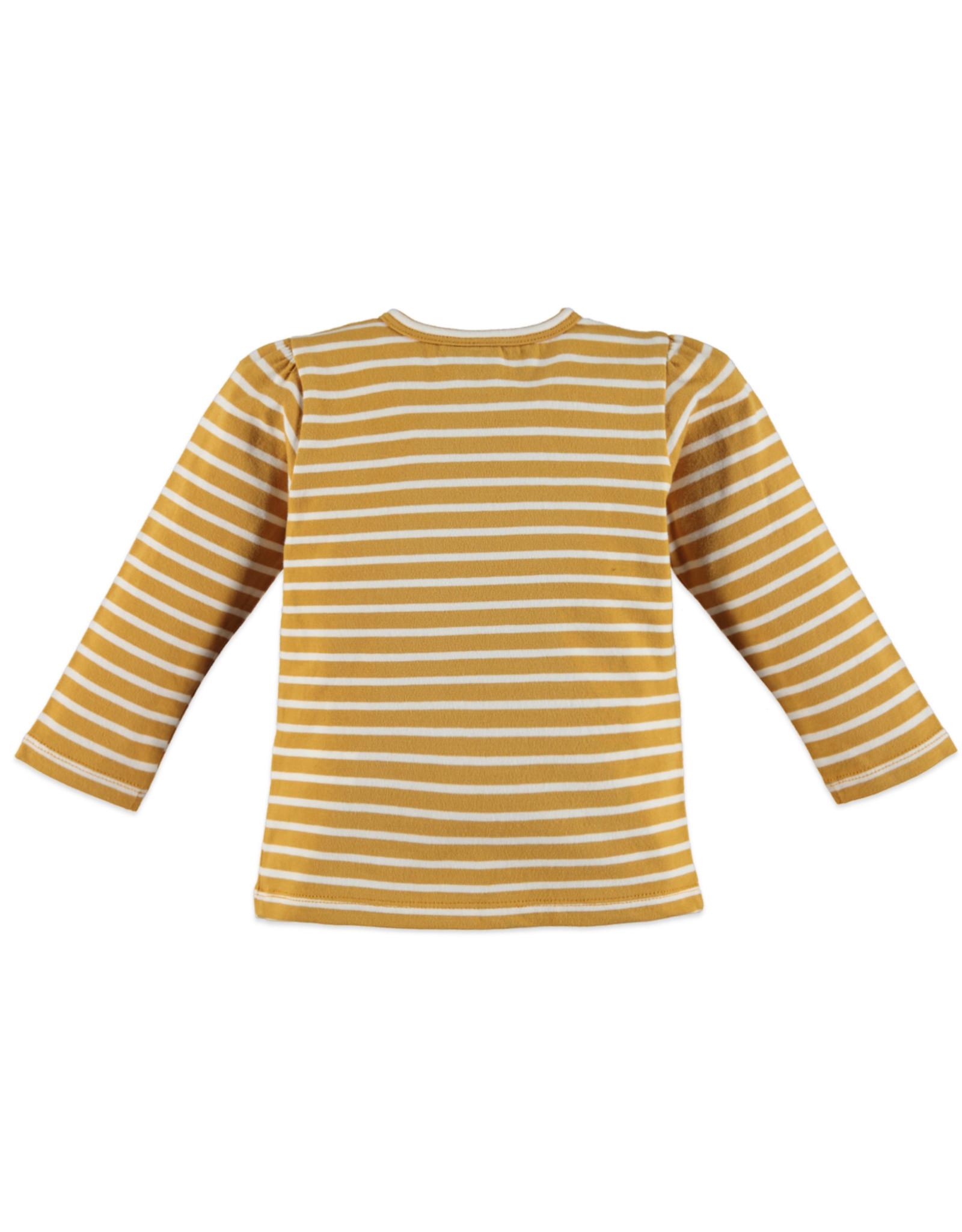 Babyface girls t-shirt long sleeve/ocher