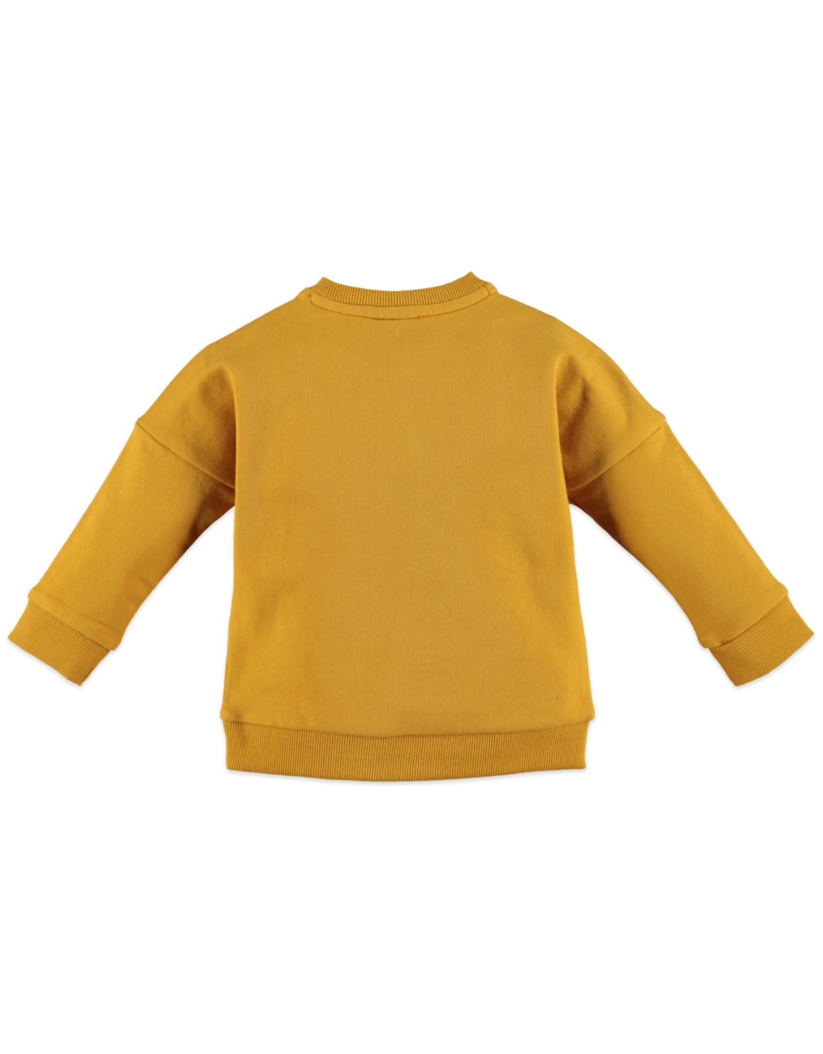 Babyface girls sweatshirt/ocher