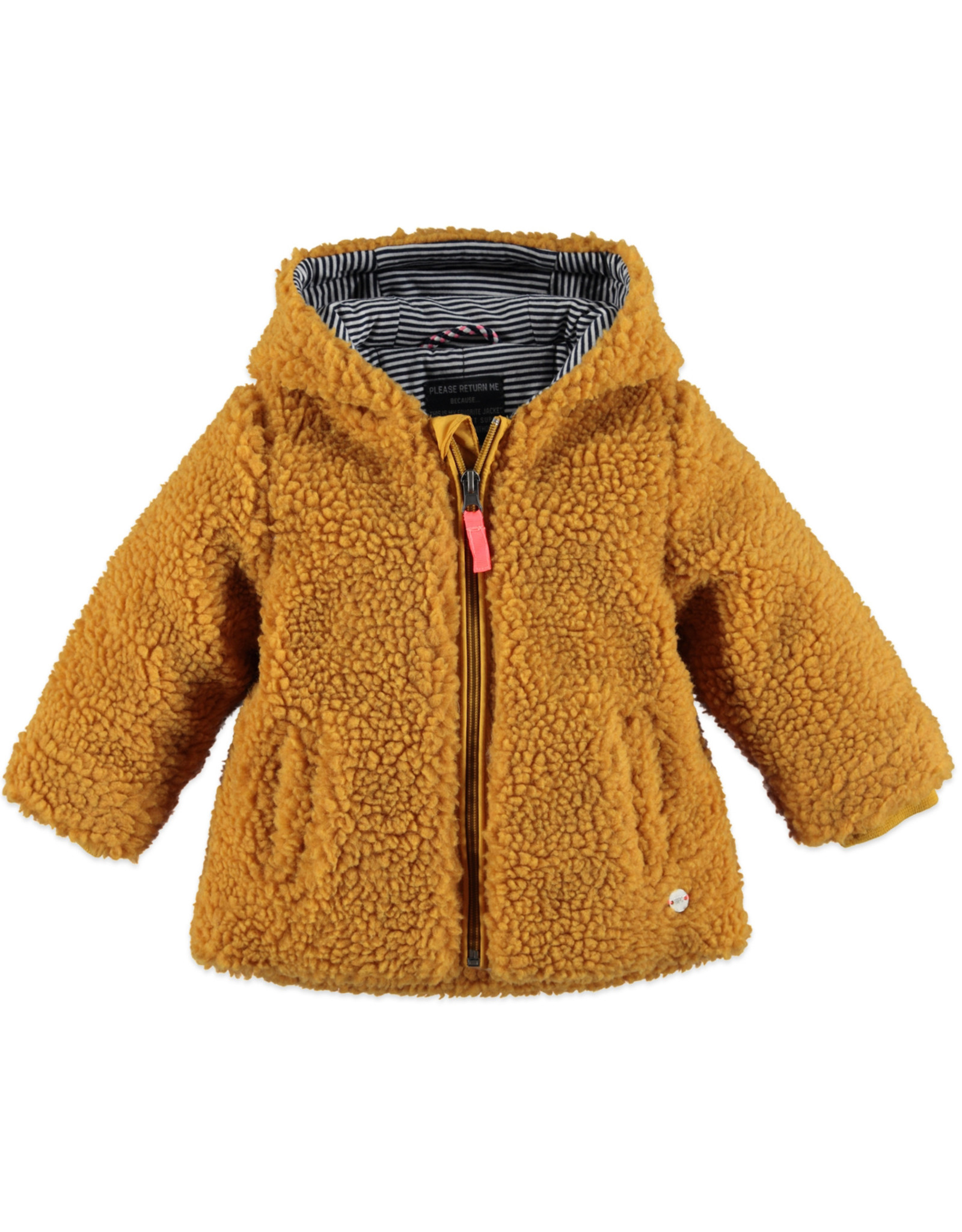 Babyface girls winter coat/ocher
