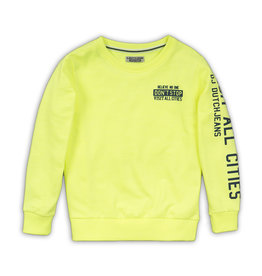 Dutch Jeans Sweater, Neon yellow