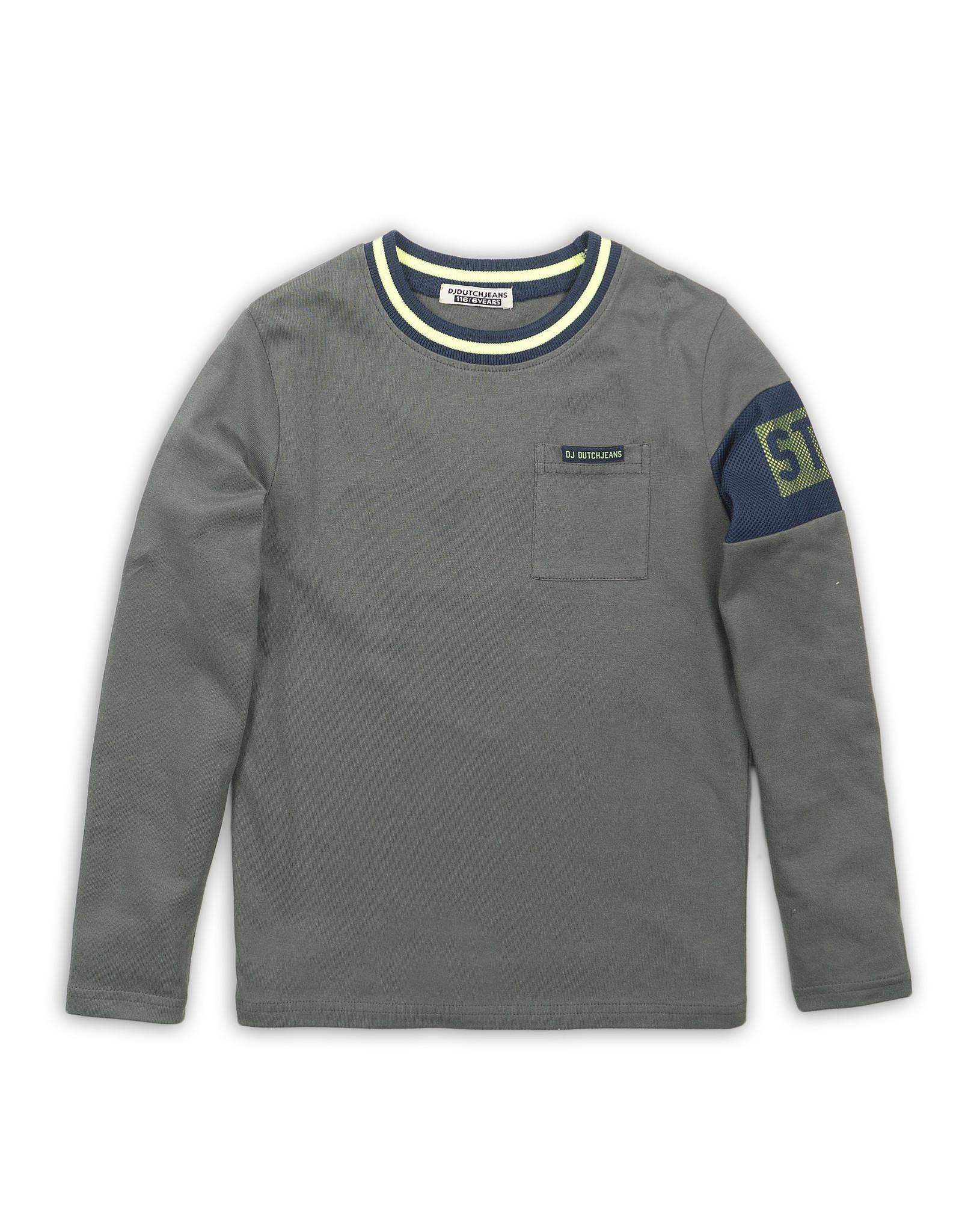 Dutch Jeans T-shirt, Army green