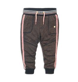 Koko Noko Jogging trousers, Rosé glitter + black