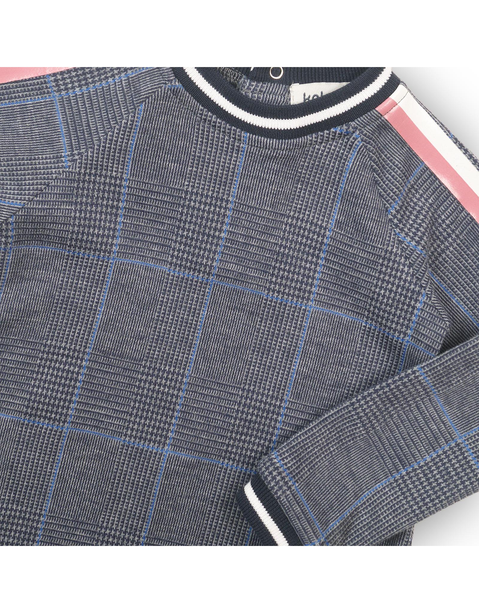 Koko Noko Dress,  Blue check