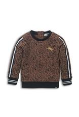 Koko Noko Sweater, Brown aop