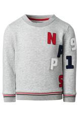 Noppies B Sweater ls Kingsburgh, L. Grey Mel.