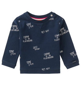 Noppies B T-Shirt LS Birkenhead AOP, Peacoat