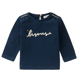 Noppies G Regular T-Shirt LS Elandsbaai, Black Iris