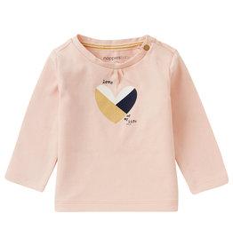 Noppies G Regular T-Shirt LS Askham, Pale Dogwood
