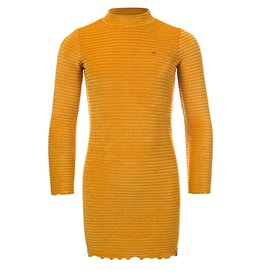 LOOXS Little Little velvet dress l.sleeve,  Honey
