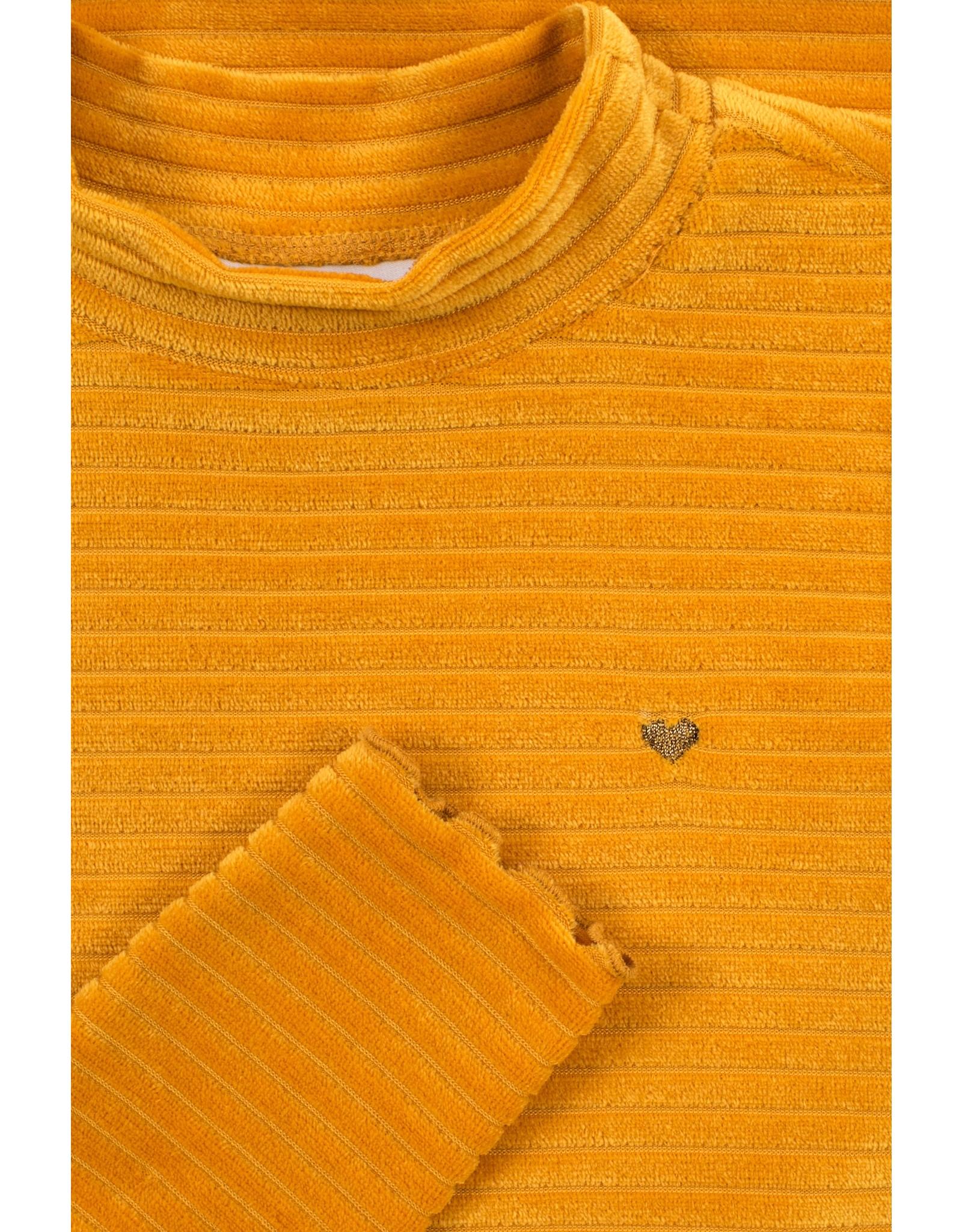 LOOXS Little Little velvet dress l.sleeve,  Honey