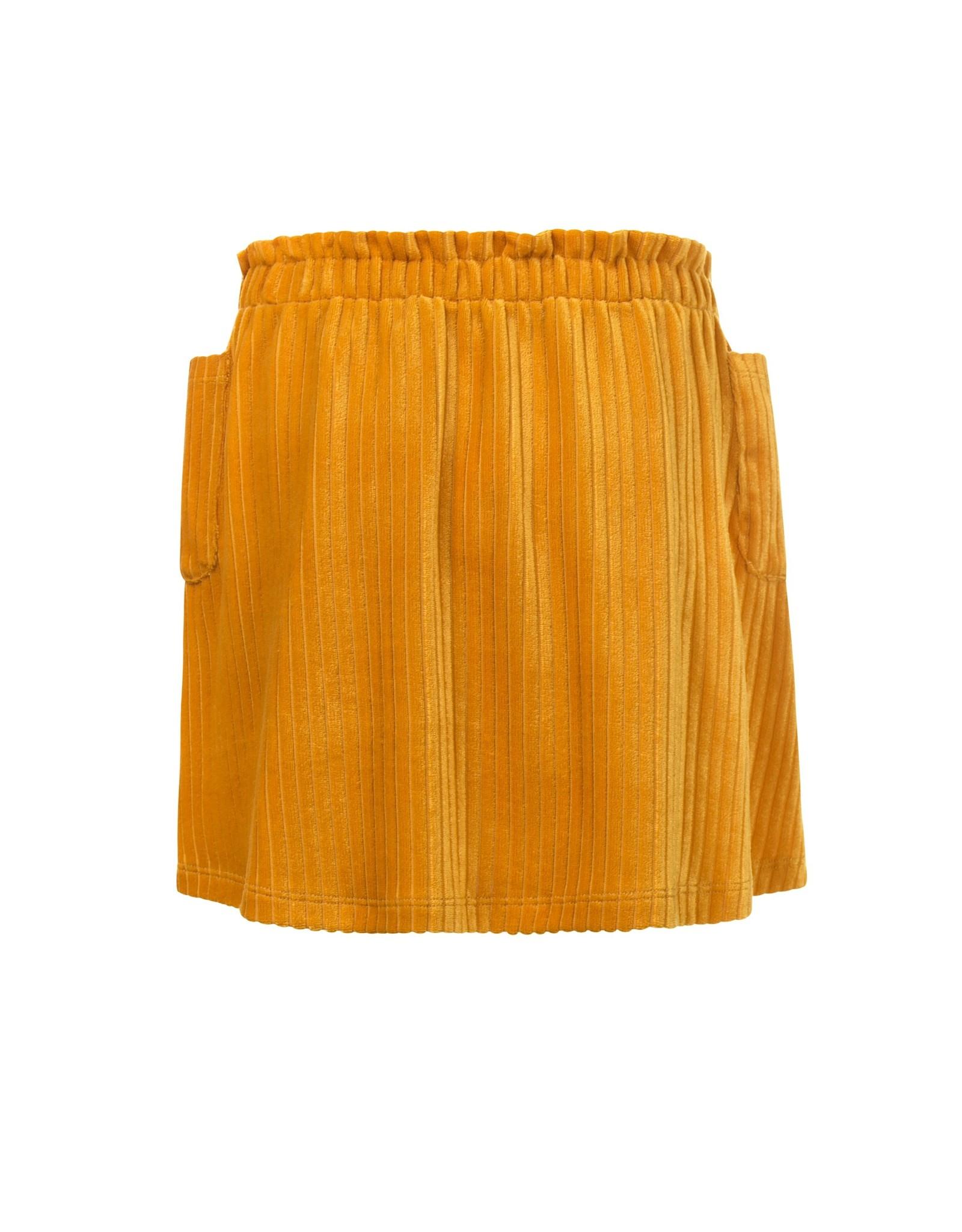 LOOXS Little Little velvet skirt,  Honey