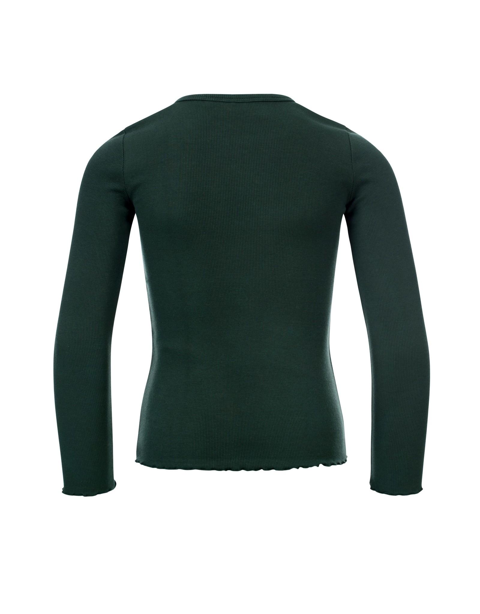 LOOXS Little Little rib t-shirt l. sleeve,  forrest