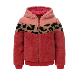 LOOXS Little Little teddy hooded jacket,  Mahony