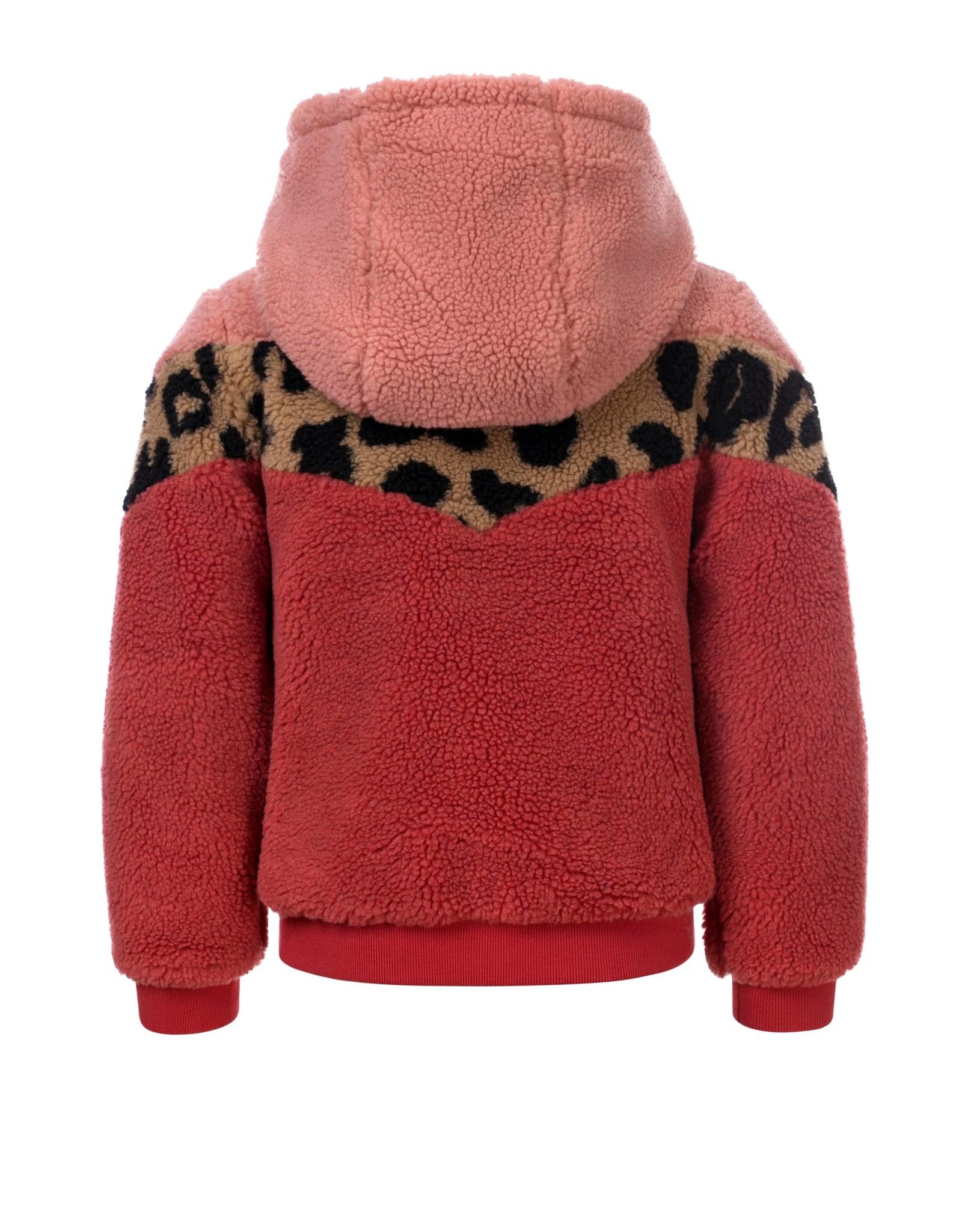 LOOXS Little Little teddy hooded jacket,  Mahony